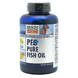 Health From The Sun PFO Pure Fish Oil