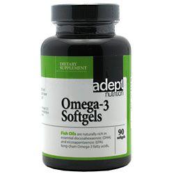 Adept Nutrition Omega-3 Softgels