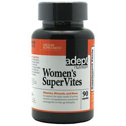 Adept Nutrition Women's Supervites