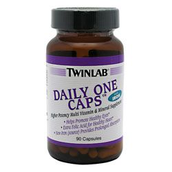 TwinLab Daily One Caps With Iron
