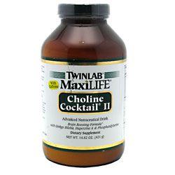 TwinLab MaxiLife Choline Cocktail II with Caffeine