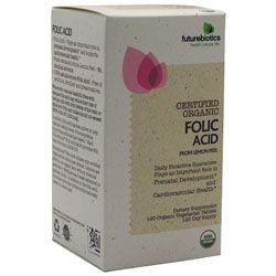 Futurebiotics Certified Organic Folic Acid