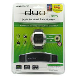 Sportline Duo 1025 Heart Rate Monitor Mens