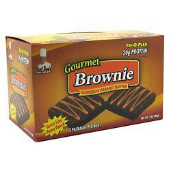 Chef Jay's Tri-O-Plex Gourmet Brownie