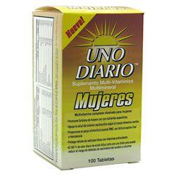 Absolute Nutrition Uno Diario Mujeres