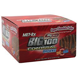 MET-Rx Big 100 Colossal High Protein Brownie Bar