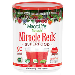 Miracle Reds Antioxidant Superfood Supplement