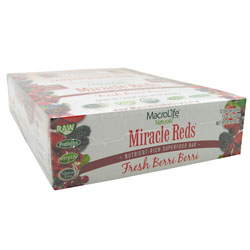 Miracle Reds Raw Anti-Oxidant Super Food Bars