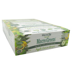 Macro Greens Raw Anti-Oxidant Super Food Bars