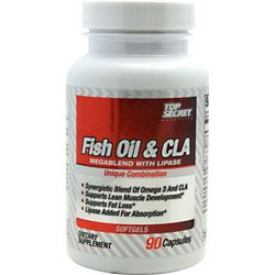 Top Secret Nutrition Fish Oil & CLA