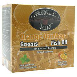 Controlled Labs Orange OxiMega-Fish & Greens Formula