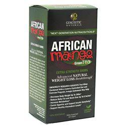 Genceutic Naturals African Mango + Green Tea