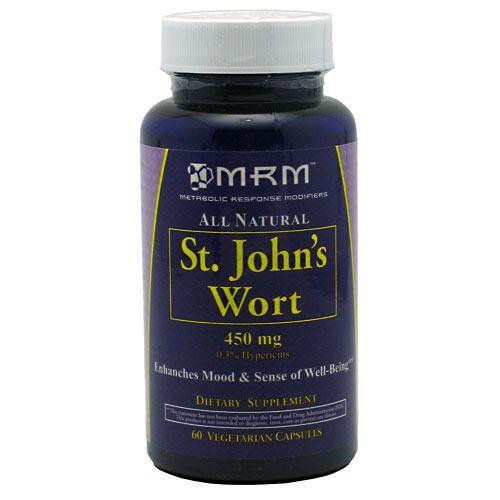 MRM St. John's Wart, 60 vegetarian capsules