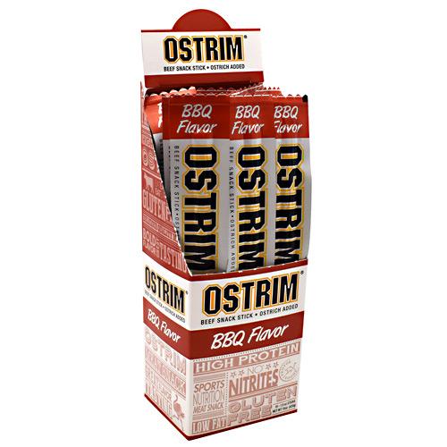 Ostrim Beef & Ostrich Snack - Barbeque - 10 Sticks