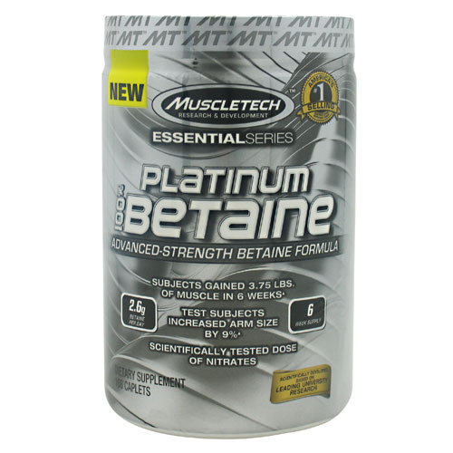 MuscleTech Essential Series Platinum 100% Betaine