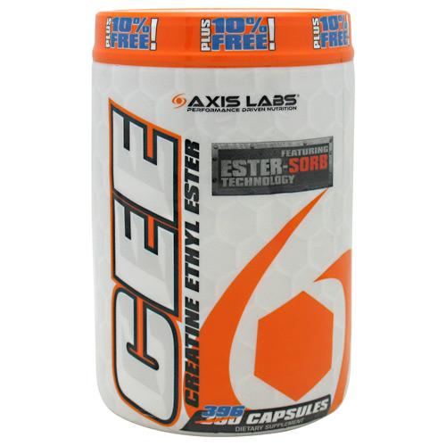 Axis Labs Creatine Ethyl Ester - 396 caps