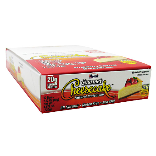 Advance Nutrient Science Gourmet Cheesecake Protein Bar