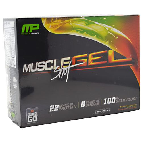 Muscle Pharm MuscleGel Shot