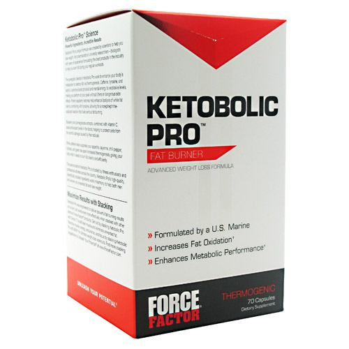 Force Factor Ketobolic Pro Fat Burner